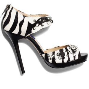 Jimmy Choo & H&M studded heels